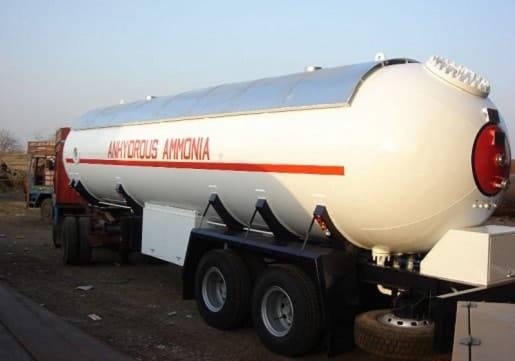 Ammonia Tanks
